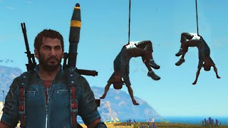 getlinkyoutube.com-HANGING WITH MY FRIENDS! (Just Cause 3 Funny Moments)