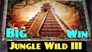 getlinkyoutube.com-**HUGE WIN** JUNGLE WILD III slot machine BONUS BIG WIN