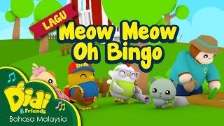 Lagu Kanak Kanak   Meow Meow Oh Bingo   Didi & Friends