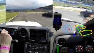 getlinkyoutube.com-Nissan GT-R @ RedBullRing 11.04.2015 Turn13
