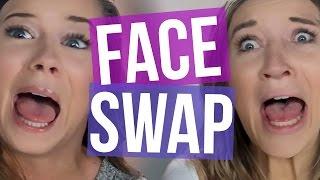 getlinkyoutube.com-Creepy Face Swap Challenge (Beauty Break)