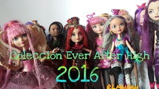 getlinkyoutube.com-Mi colección de muñecas Ever After High 2016