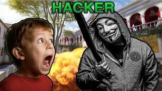 getlinkyoutube.com-KID EXTREMELY SCARED OF HACKER! (BO3 Trolling)