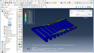 getlinkyoutube.com-ABAQUS Tutorial: Railroad Natural Frequency Analsys Part II.