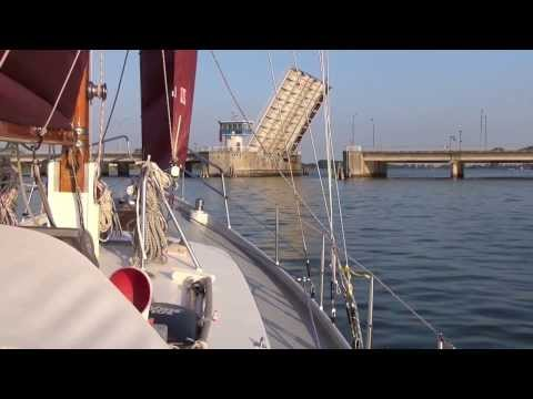 Thorfinn segelt - Sommer 2013 - Teil 2 - Bornholm, Hiddensee, Sunde, Ostsee segeln