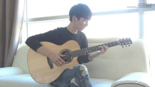 getlinkyoutube.com-(Sam Smith) I'm Not The Only One -  Sungha Jung
