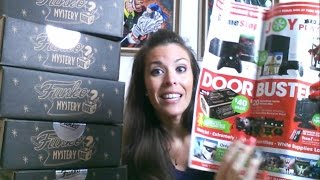 Unboxing Funko Mystery Box at Gamestop BLACK FRIDAY Exclusive POPS !!