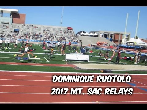 Dominique Ruotolo - 2017 Mt. SAC Relays