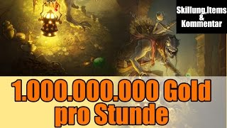 Diablo 3 Ros Gold farmen Guide 1 Milliarde Gold pro Stunde Patch 2.1.2