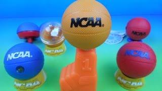 getlinkyoutube.com-2015 NCAA BASKETBALL SET OF 6 BURGER KING KID'S MEAL TOY'S VIDEO REVIEW
