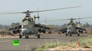 getlinkyoutube.com-«Летающий танк»: в операции ВКС РФ в Сирии принимает участие легендарный Ми-24