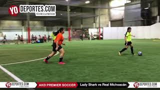 Lady Shark vs. Real Michoán AKD-Premier Soccer League