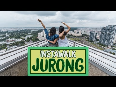 Exploring Jurong And A Sneak Peek Into Its Future - #InstaWalk With MND Singapore