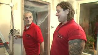 getlinkyoutube.com-BAUHAUS TV - DIE WENDES Handwerker mit Herzblut - Folge 3: Projekt Fliesenwand