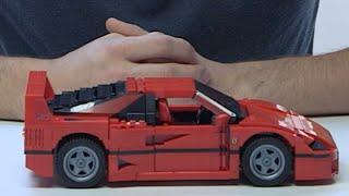 getlinkyoutube.com-Build your very own Ferrari F40! - LEGO Creator