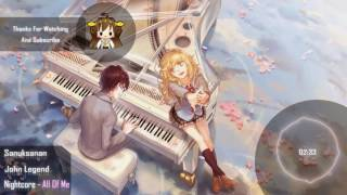 getlinkyoutube.com-Nightcore - All Of Me