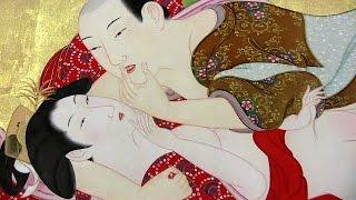 getlinkyoutube.com-[R18] shunga 細見美術館 春画展(前期) 「肉筆画」