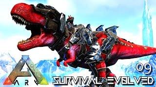 ARK: SURVIVAL EVOLVED - TAMING A TEK REX ARMY !!! E09 (MODDED ARK PUGNACIA DINOS)