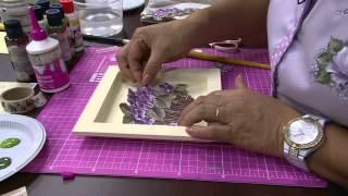 Mulher.com 16/09/2014 - Caixa Decoupage 3D  por Mamiko Yamashita - (Parte 1/2)