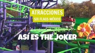 Six Flags México - The Joker - (1080p)