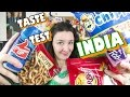 Indian Snacks Taste Test 1