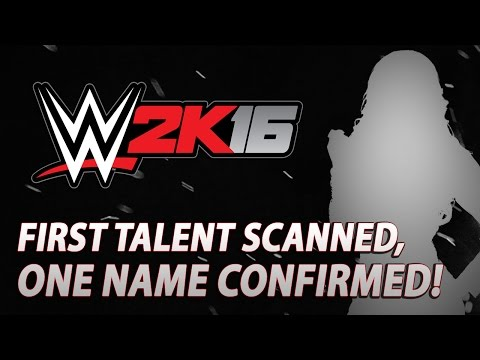 WWE 2K16: Talent Face Scanned, First Name Confirmed!