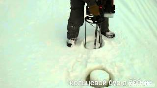 getlinkyoutube.com-Кольцевой бур д.300мм