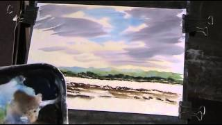 getlinkyoutube.com-Tribute to Ron Ranson and his Big Brush Watercolour method