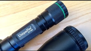 getlinkyoutube.com-The best IR torch the Uniquefire 1508 IR torch