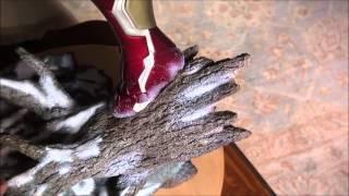 getlinkyoutube.com-Iron Studios Iron Man 1/4 scale statue