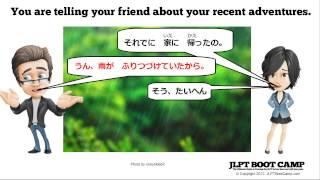 getlinkyoutube.com-N4 Grammar: Using hajimeru, dasu, tudukeru, owaru