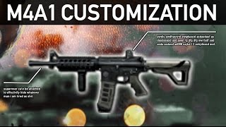 getlinkyoutube.com-Contract Wars : M4A1 Customization