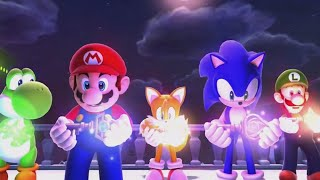 getlinkyoutube.com-Mario and Sonic at the Sochi 2014 Olympic Winter Games - Legends Showdown Ending (Wii U)