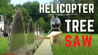 getlinkyoutube.com-Helicopter Pilot Jobs Tree Sawing In The MD Helicopters MD 500