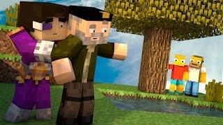 getlinkyoutube.com-Minecraft | LA FAMILIA SIMPSON!! c/ Vegetta | Minijuego BUILD BATTLE