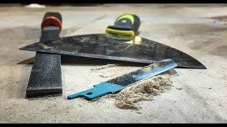 getlinkyoutube.com-DIY scrapers from simple tools - Day 18/30