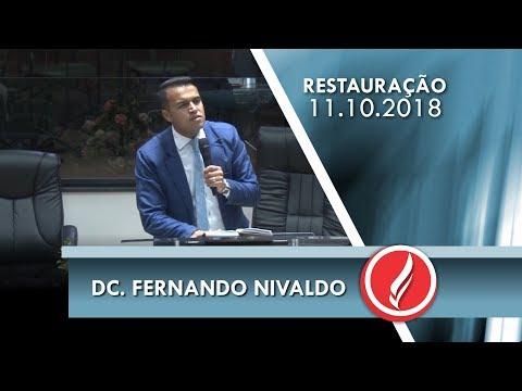 Noite da Restauração - Dc. Fernando Nilvado - 11 10 2018