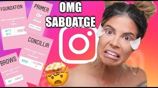 I LET MY SUBSCRIBERS PICK MY MAKEUP   SABOTAGE width=
