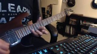White Lion - You're all I Need - Guitar Solo Cover