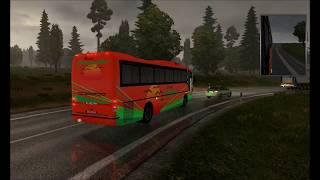 getlinkyoutube.com-Euro Truck Simulator 2 /Busscar Jumbus 340/ MOD BUS/ 1.17 - 1.19 + link