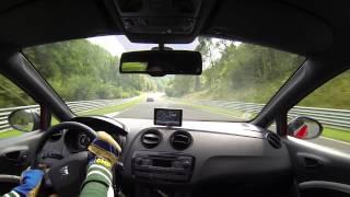 getlinkyoutube.com-Seat Ibiza cupra PT - Nurburgring - 10 min :)