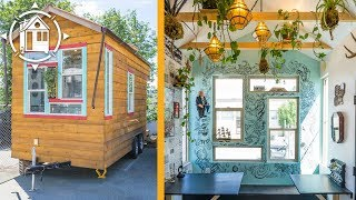 getlinkyoutube.com-Zee's Funky Tiny House in British Columbia