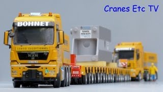 getlinkyoutube.com-WSI MAN TGX + TGA + Scheuerle Trailer 'Bohnet' by Cranes Etc TV