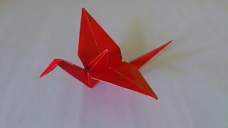 getlinkyoutube.com-Cara Membuat Origami Burung Bangau | Origami Binatang