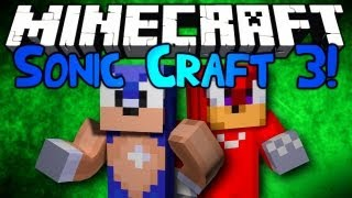 "getlinkyoutube.com-Minecraft: Sonic Craft 3! Ep1 w/ Setosorcerer & Kkcomics! ""We're Back!!"""