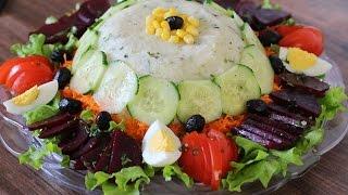 Salade composée / Mixed salad / سلطة خضار مشكلة