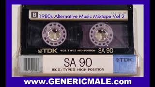 80s New Wave / Alternative Songs Mixtape Volume 2 width=