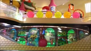 getlinkyoutube.com-【メダルゲーム】スーパーマリオ 不思議のころころパーティー 撤去されるので3000枚無駄遣いしてきた