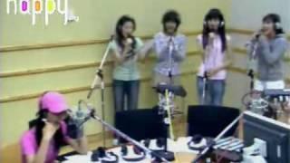 getlinkyoutube.com-SNSD - I love you (Nuhreul Saranghae) S.E.S @ FM Inkigayo Aug13.2007 GIRLS' GENERATION Live