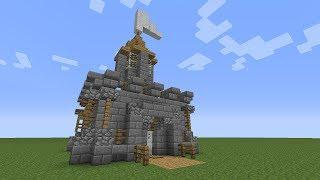 getlinkyoutube.com-Minecraft: How To Build A Mini Castle